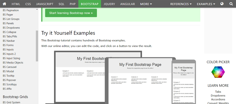 20 Best Websites to Learn Bootstrap 4 for FREE
