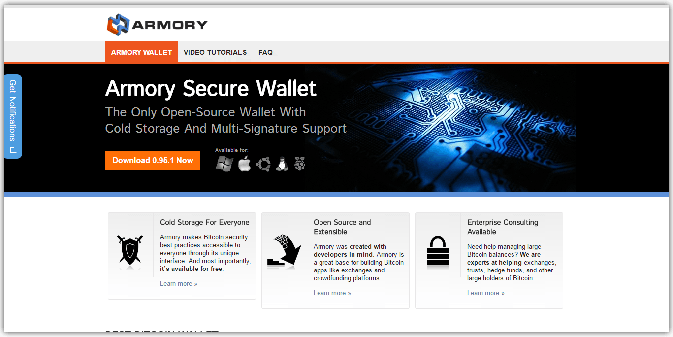 Best Bitcoin Wallet Armory