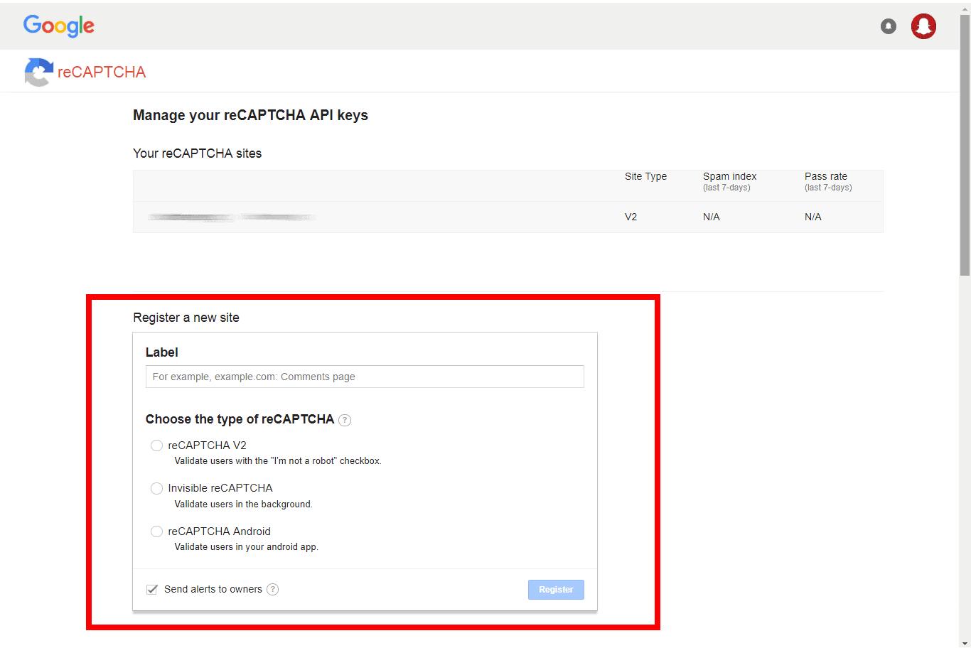 Vanilla_Forums_reCAPTCHA_Set_Up_01