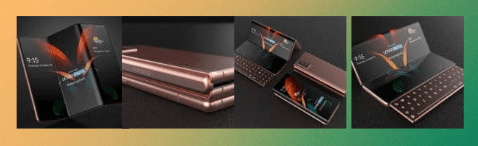 Samsung Display indirectly teases rollable and tri-folding screen devices