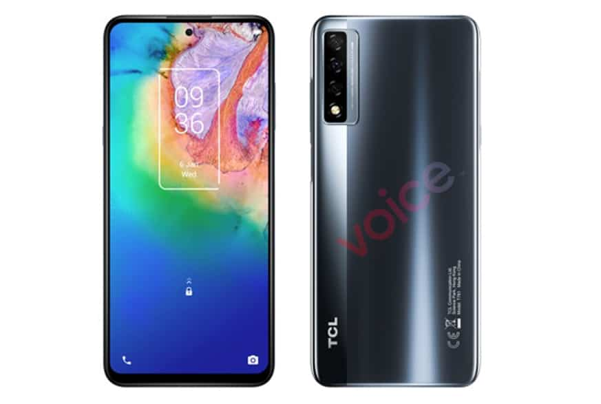 TCL 20 5G leaked images and specifications ahead of 2021 launch
