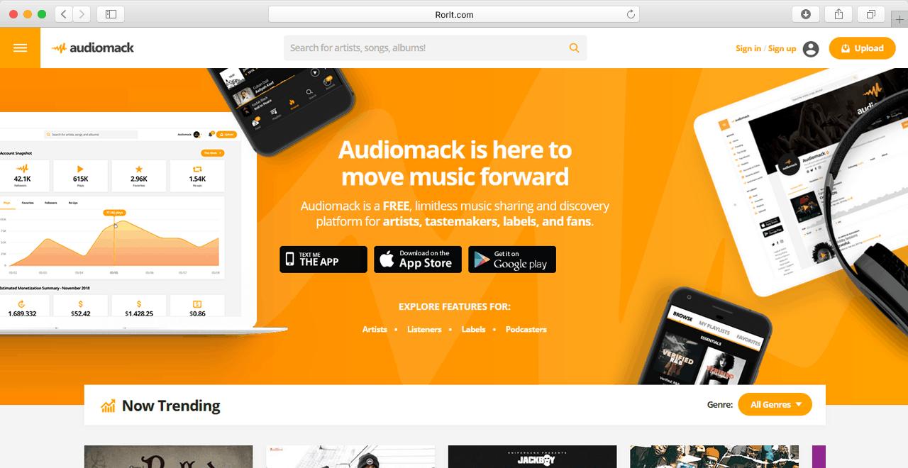 audiomack com