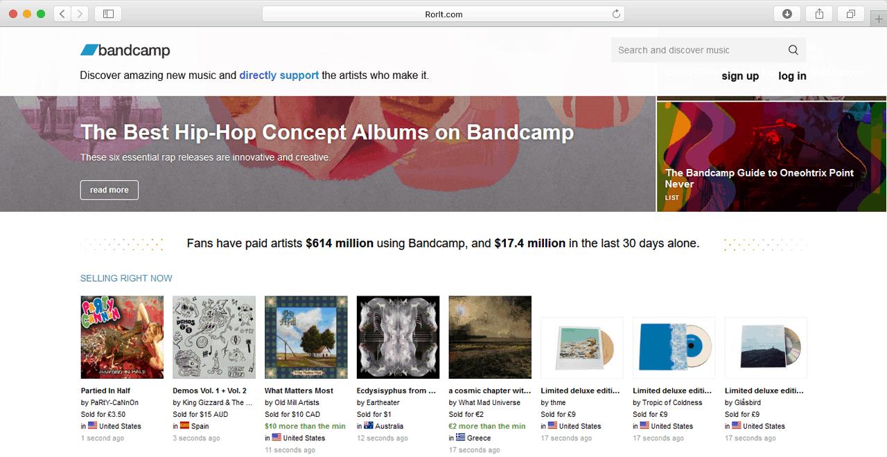 bandcamp com