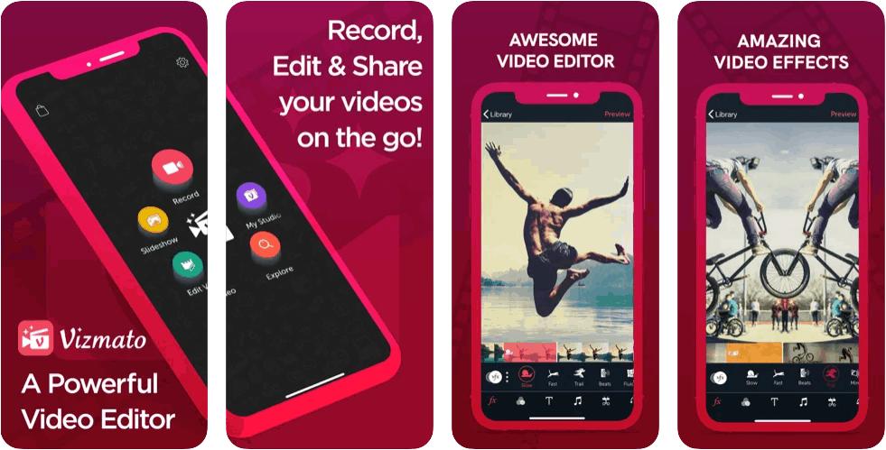 Vizmato Video Editor FilterScreenshot